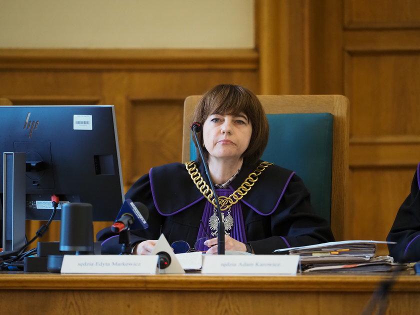 Sędzia Edyta Markowicz