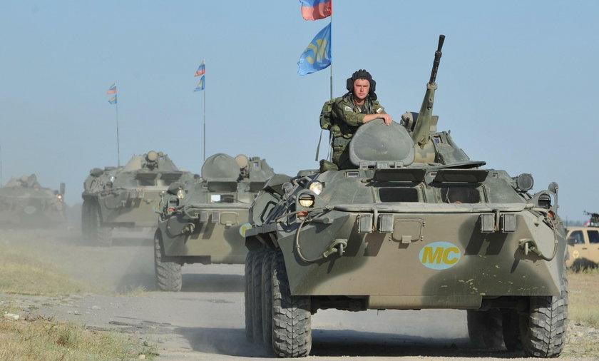 Rosyjskie manewry na Krymie