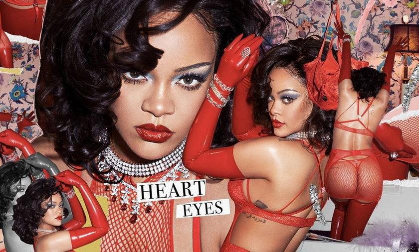Rihanna, która nie boi się pokazywać ciała, założyła markę bielizny.