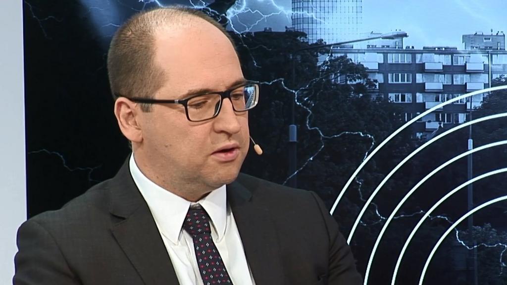 Burza polityczna: Adam Bielan