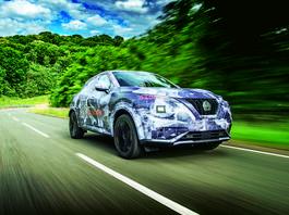 Nowy Nissan Juke – zabawy ciąg dalszy – pierwsza jazda