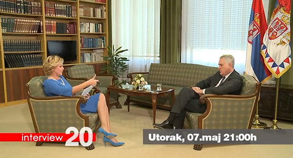 Tomislav Nikolić u emisiji