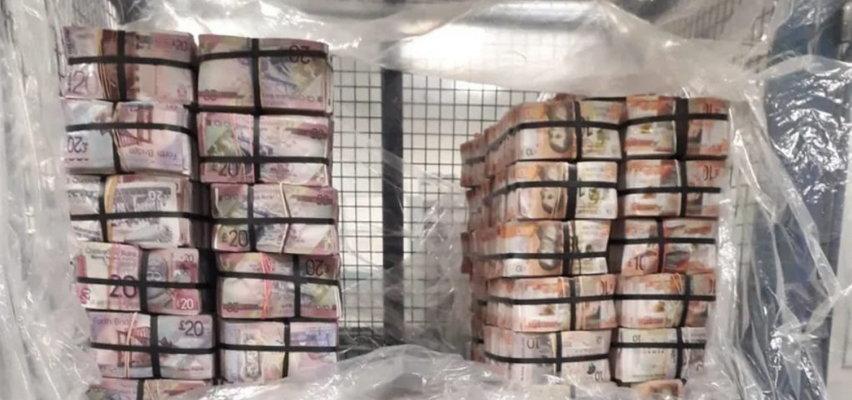 Gang dosłownie spał na pieniądzach. Policja zarekwirowała miliony funtów, a wszystko w gotówce