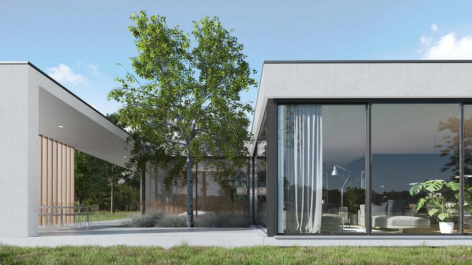 Projekt domu jednorodzinnego w Bydgoszczy