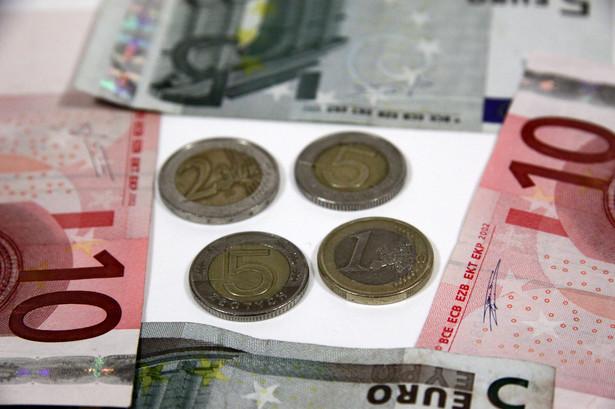Złotówki i euro