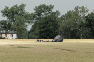 Wypadek samolotu wojskowego MiG-29. Pilot nie przeżył