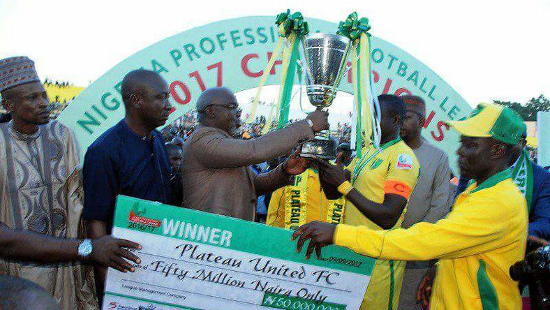 Plateau United are the last winners of a complete NPFL season