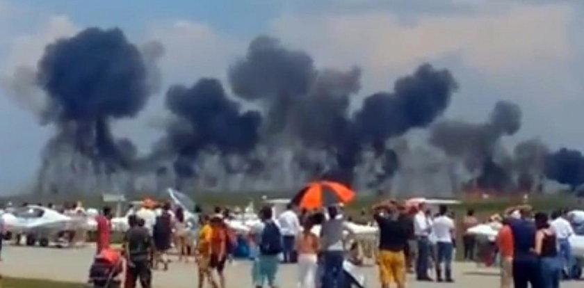 Tragedia podczas pokazów lotniczych. Zginął pilot