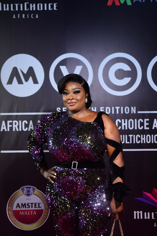 actress, Ronke Odunsanya at the AMVCA nominee party [BHM]