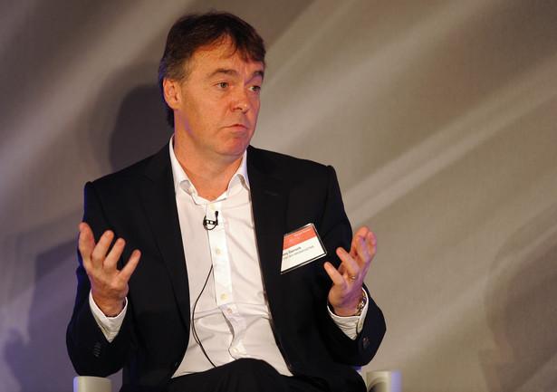 Jeremy Darroch, prezes brytyjskiej telewizji satelitarnej BSkyB