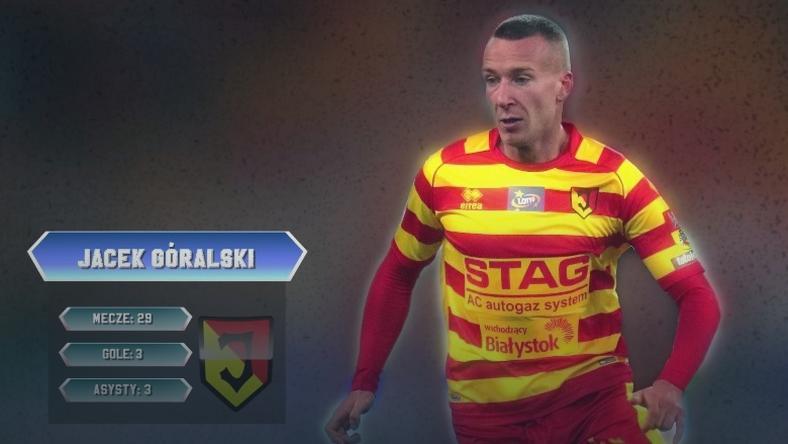 Jacek Góralski defensywnym pomocnikiem jedenastki sezonu