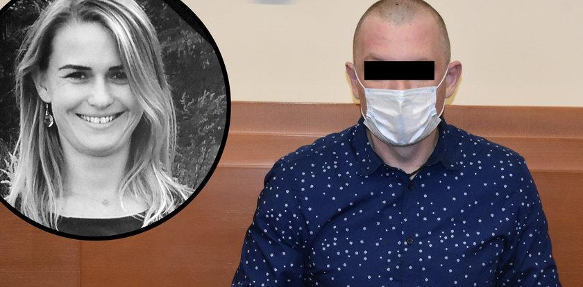 Zamordował jej córkę, bo z nim zerwała. Mama ofiary zasłabła na sali sądowej