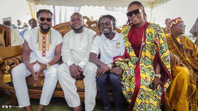 National Chief Imam names Clemence Gyato as Peace Ambassador (PHOTOS)