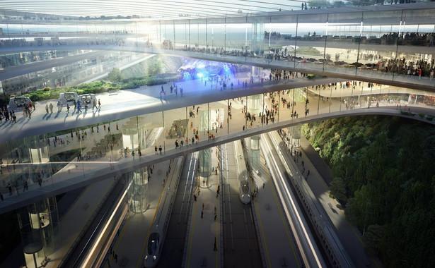 Terminal CPK. Koncepcja Zaha Hadid Architects