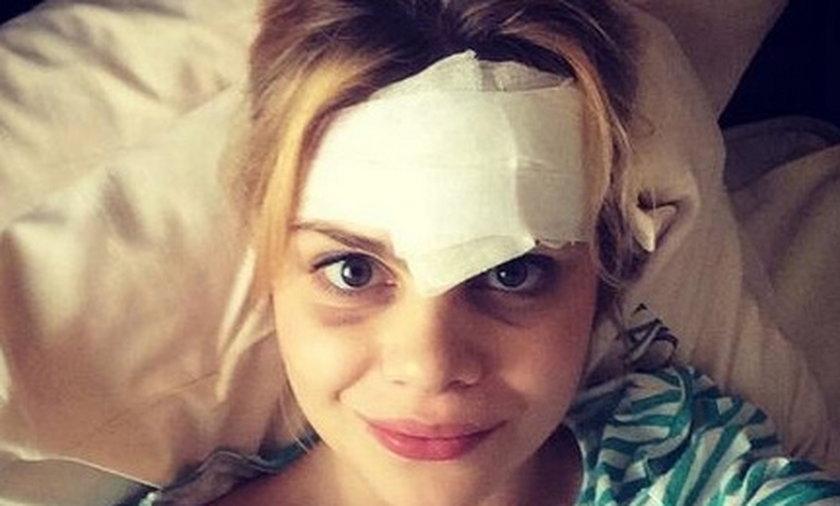 Ada Szulc miała wypadek