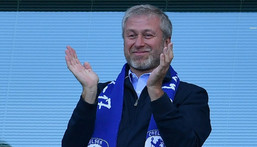 Abramovich purchased Chelsea Football Club in 2003 Creator: Ben STANSALL