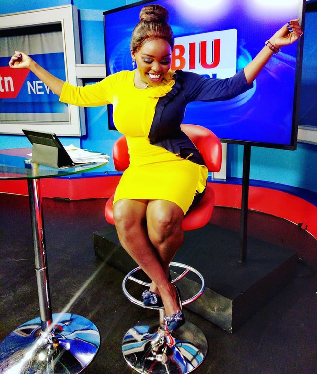 We never dated, we never kissed – KTN news anchor sets record straight on dating Saint P
