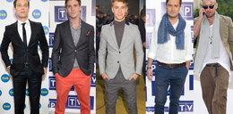Eleganccy mężczyźni na konferencjach
