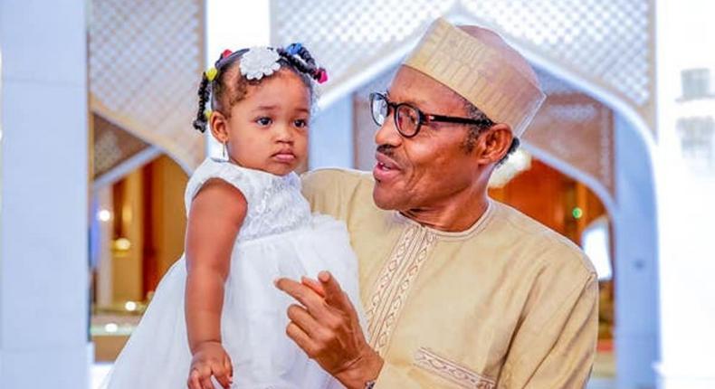 President Miuhammadu Buhari assured Nigerian children that his administration would leave behind a better Nigeria (Vnaguard)
