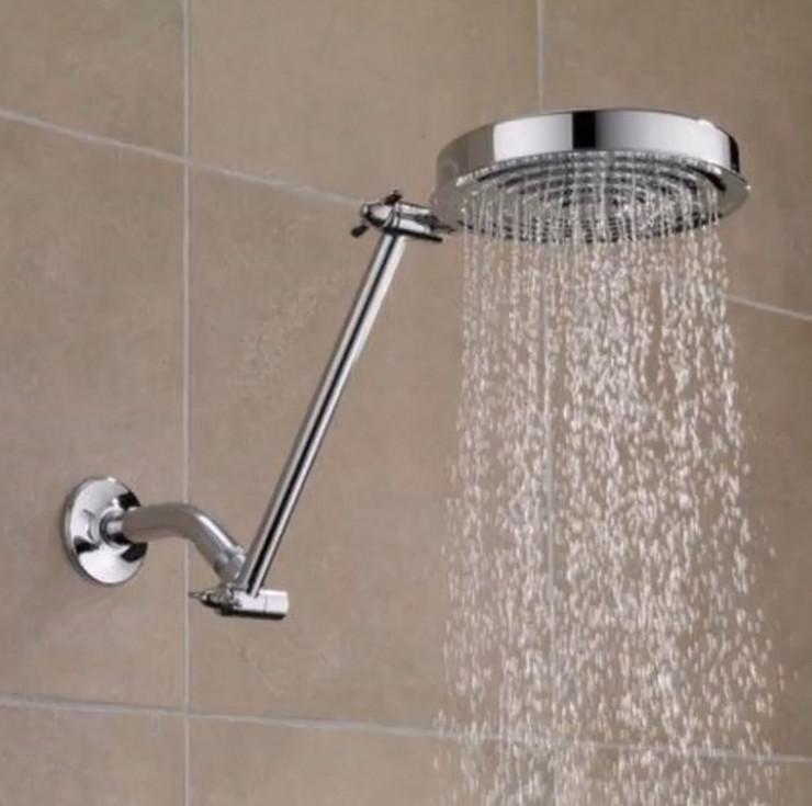 topla voda tuširanje