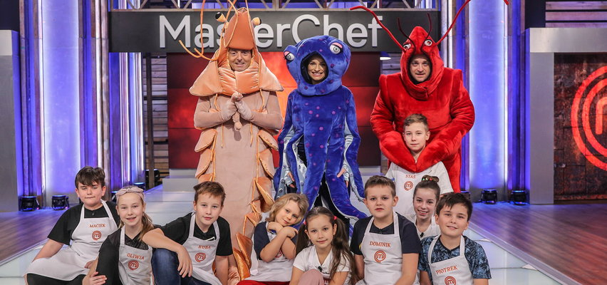 Masterchef Junior. Uczestników ocenią krewetka, homar i ośmiornica