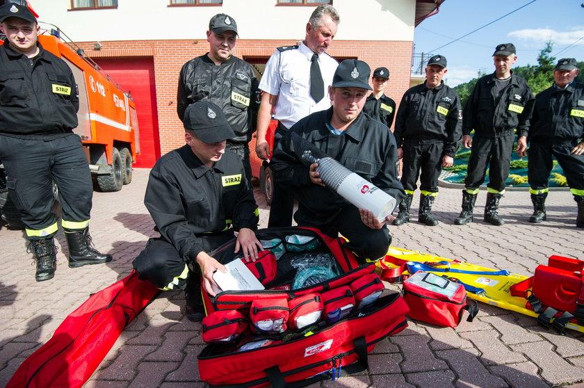 Fundacja Faktu podarowała sprzęt strażakom z OSP