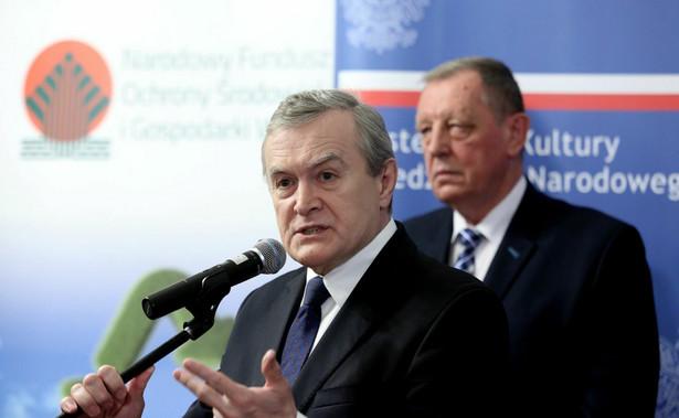 """""""My nie zmieniamy prawa, tylko chcemy uszczelnić abonament"""" - powiedział Gliński."""