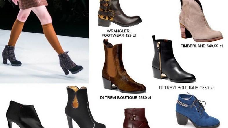 Modne buty na jesień i zimę 2014
