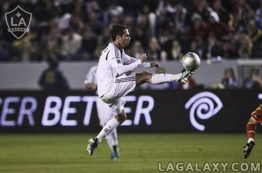 Marcelo Sarvas gra w drużynie z Davidem Beckhamem