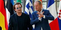 Tusk i Bono. A w tle... To cię zaskoczy!
