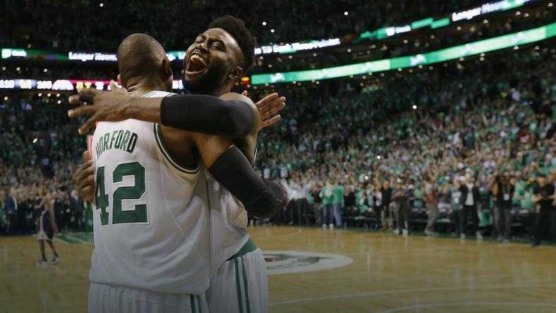 USA BASKETBALL PLAYOFFS NBA (Washington Wizards at Boston Celtics)