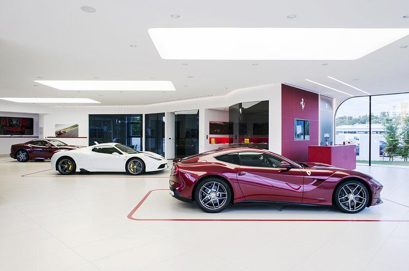 Ferrari z Katowic