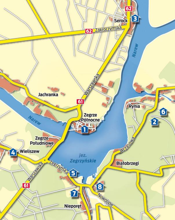 W Warszawie i okolicy jest dużo kąpielisk, w których można znaleźć ochłodę w upalne dni