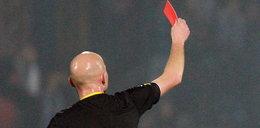 Piłkarz został ukarany czerwoną kartką za... nazwisko