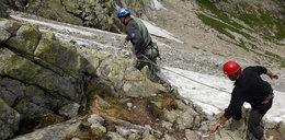 Akcja ratunkowa w Tatrach. Turysta spadł ze szlaku na Rysy