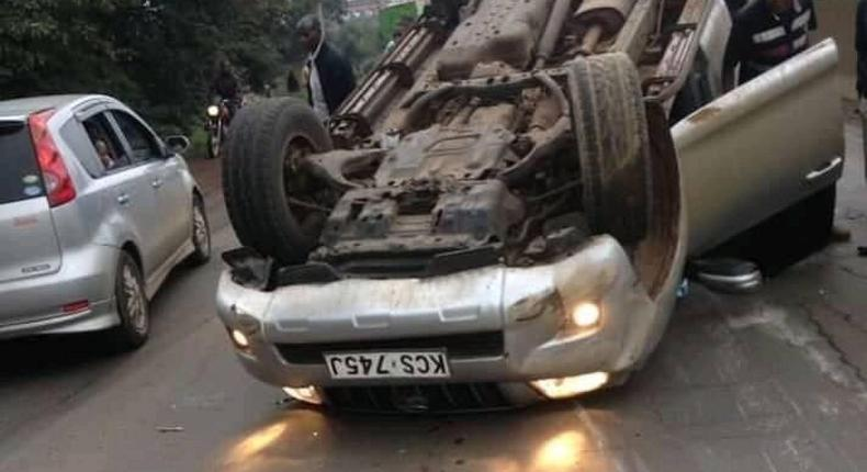 ODM MP involved in road accident