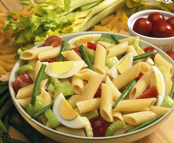 Testenina, sveže povrće i jaja umesto mesa su najbolji izbor