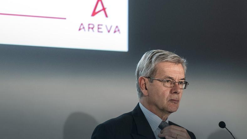 Prezes Areva Philippe Varin