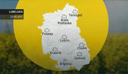 Prognoza pogody dla woj. lubelskiego - 23.09