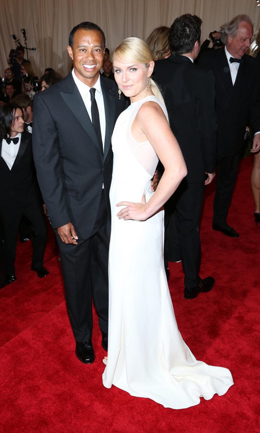 Tiger Woods (golfista) i Lindsey Vonn (narciarka)