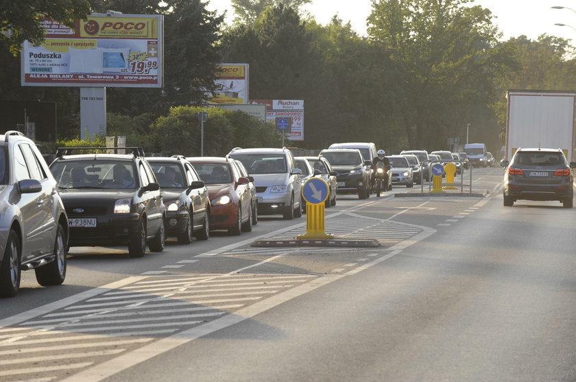 Średnia prędkość we Wrocławiu to 37 km/godz.