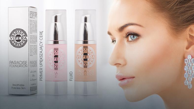 Vipera Cosmetics - kolekcja Paradise Foundation