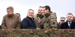 Orban w Polsce. Spotkał się z Morawieckim na poligonie