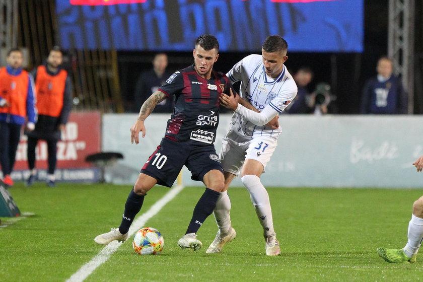 Pogoń zremisowała z Lechem 1:1. Ozdobą rywalizacji w Szczecinie był piękny gol Srdjana Spiridonovicia (26 l.)