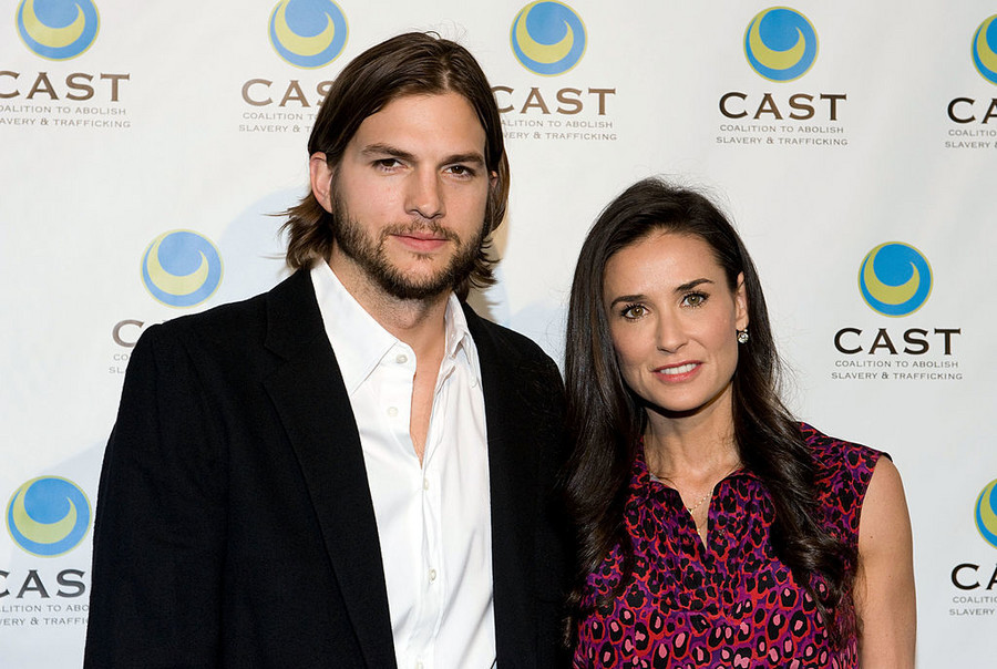 Demi Moore i Ashton Kutcher