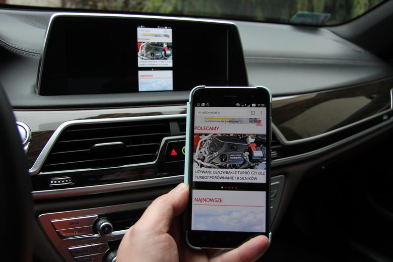 Strona mobilna Auto Świat sklonowana z Asus Zenfone 3