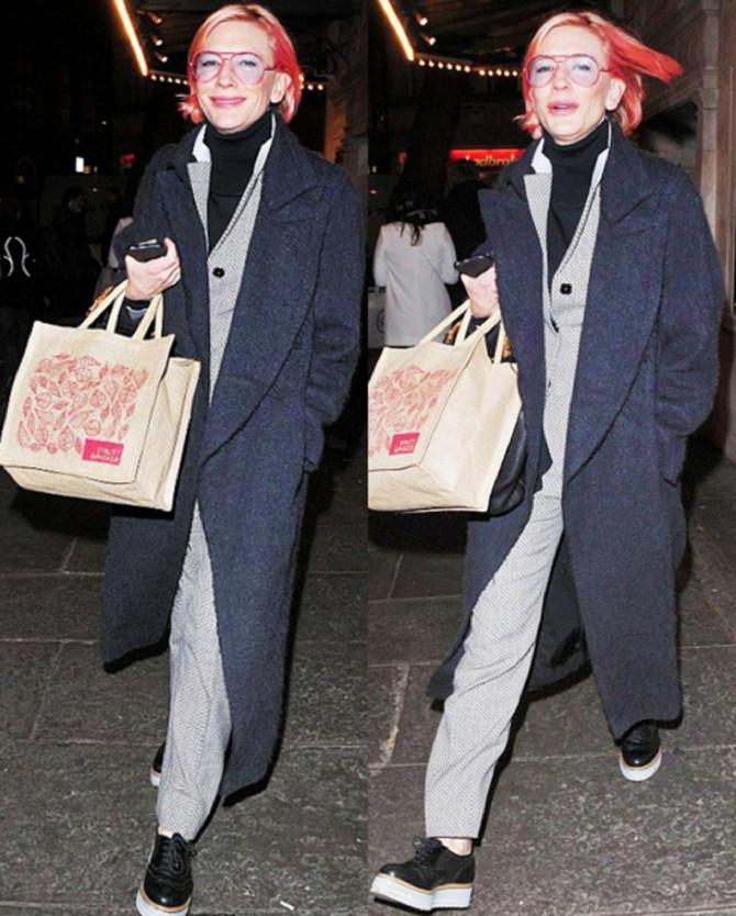 Kejt Blanšet promovisala novi imidž na ulicama Londona