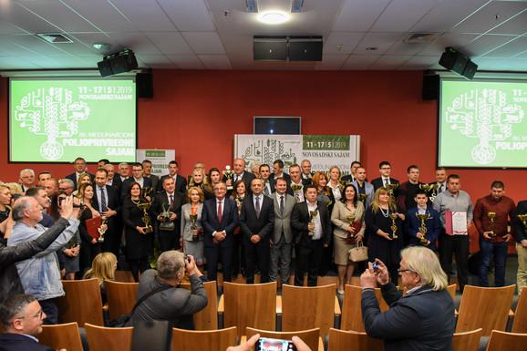 Nagrađeni na Međunarodnom poljoprivrednom sajmu u Novom Sadu