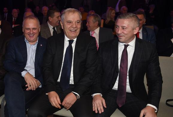 Goran Vesić, Tomislav Karadžić i Slaviša Kokeza