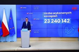 Morawiecki: Nie zamierzam wycofywać wniosku do TK ws. hierarchii prawa krajowego i unijnego